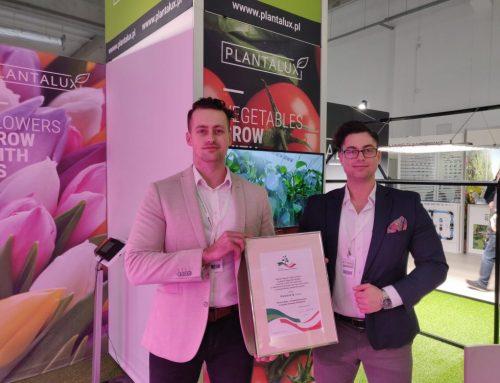 Plantalux был награжден на выставке фруктов и овощей TSW 2020