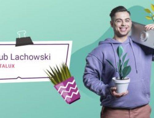 Jakub Lachowski w kampanii Cash Lajf Balans